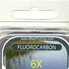 Premium 6X (3.7 Lb) Fluorocarbon Tippet Material  98 FT