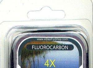 Premium 4X (6.0 Lb) Fluorocarbon Tippet Material  98 FT