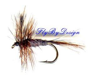 Adams Dry Fly Twelve Size 18 Fly Fishing Flies Flys