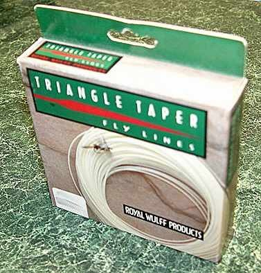 Royal Wulff Triangle Taper 11wt Salmon Floating FlyLine