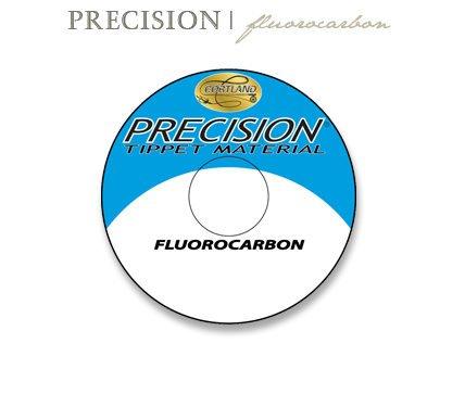 Cortland 1x (10 lb) Precision Fluorocarbon Tippet Line