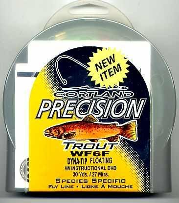 Cortland Precision Trout WF6 Hi-Floating Fly Line + DVD