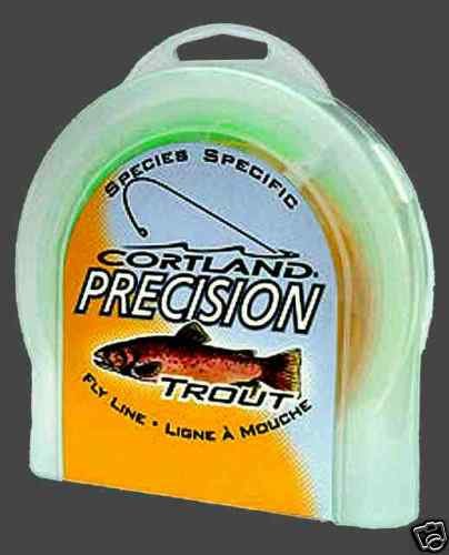 Cortland Precision Trout WF3 Floating Fly Line + DVD