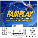 Cortland Fairplay 4x (4.5 Lb test) 7.5' Tapered Leader