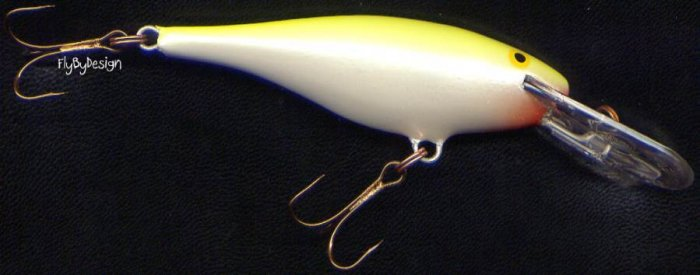 Rapala Shad Rap Silver Fluorescent Chartreuse Lure