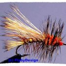 Yellow Stimulator - One Dozen Size 16 Fly Fishing Flies