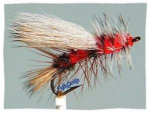 Royal Stimulator Fly Fishing Flies - Twelve Size 14