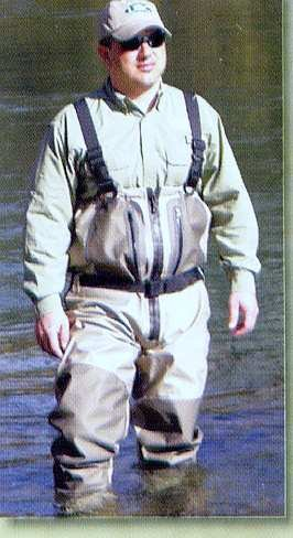 CADDIS Northern Guide Breathable Zipper Chest Waders