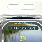 Premium 3X (6.8 Lb) Fluorocarbon Tippet Material  98 FT