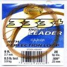 Cortland 9'-2x (8.5Lb test) 333+ Tapered Leader w/Loop