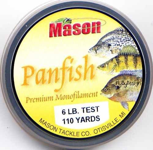 Mason Premium 6 Lb Monofilament Panfish Fishing Line
