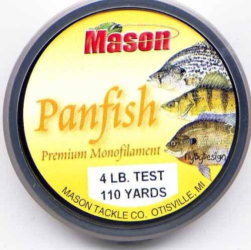 Mason Premium 4 Lb Monofilament Panfish Fishing Line
