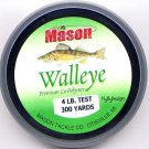 Mason Premium Copolymer Walleye 4Lb 300 Yd Fishing Line