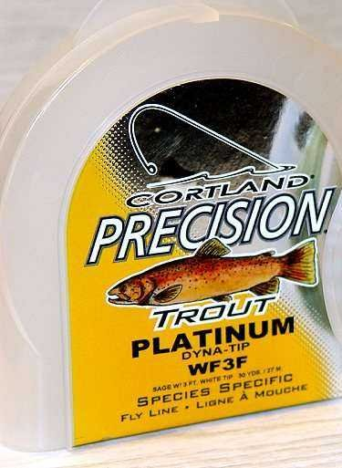 Cortland Precision Platinum Trout WF3 Floating Fly Line