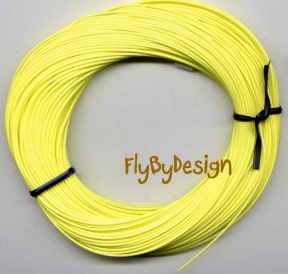 Bitch Creek Lemon Yellow Teflon WF4 Floating Fly Line