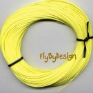 Bitch Creek Lemon Yellow Teflon WF4 Floating Fly Line