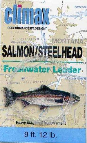 Climax 9 ft 12 Lb Salmon/Steelhead Fly Fishing Leader