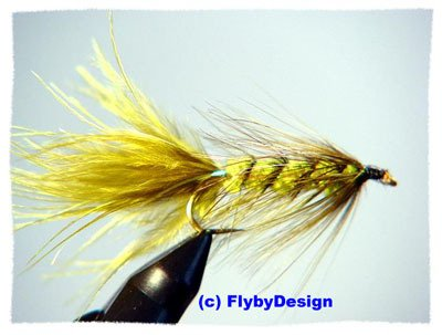 Olive Woolly Bugger Twelve Size 6 Fly Fishing Flies