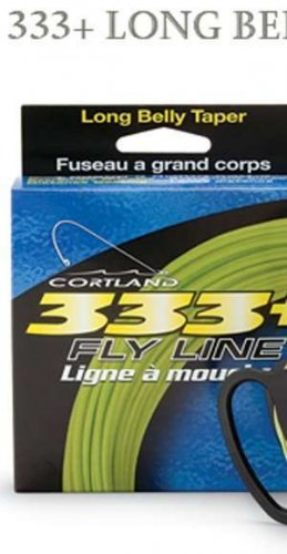 Cortland 333 WF4 Floating Rocket Taper Green Fly Line