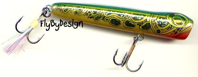 "Storm 3"" Bull Frog Chug Bug Floating Hard Bait Lure"