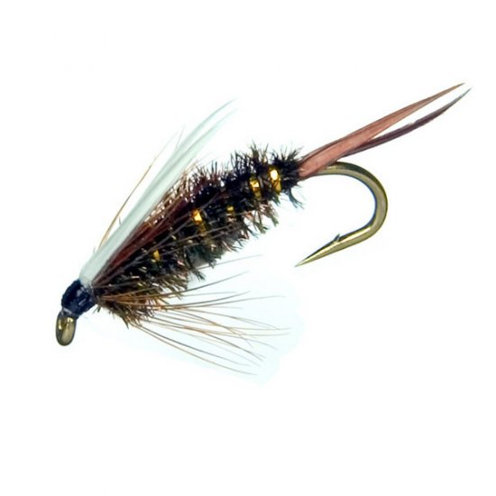 PRINCE NYMPH - One Dozen Hook Size 18 Fly Fishing Flies