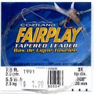 Cortland Fairplay 3x (5.5 Lb test) 7.5' Tapered Leader