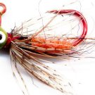 Orange Czech Soft Hackle #10 Fly Jigs - 1/100 oz 3-Pak