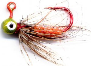 Orange Czech Soft Hackle #10 Fly Jigs - 1/100 oz 3-Pak