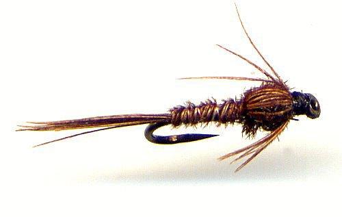 Pheasant Tail Nymphs Twelve Size 16 Fly Fishing Flies
