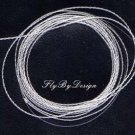 Furled 30# Test Clear Fluorocarbon Fly Leader 6+wt Rod