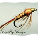PMD Flashback Sparkle Nymphs - One Dozen Hook Size 22