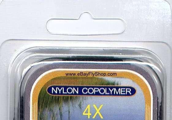 Premium 4X (6.0 Lb) Monofilament Tippet Material 164 FT