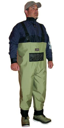 CADDIS Breathable Waterproof Chest Waders - Size Choice