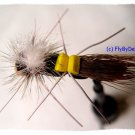 Chernobyl Ant (Hopper) Twelve Size 6 Fly Fishing Flies