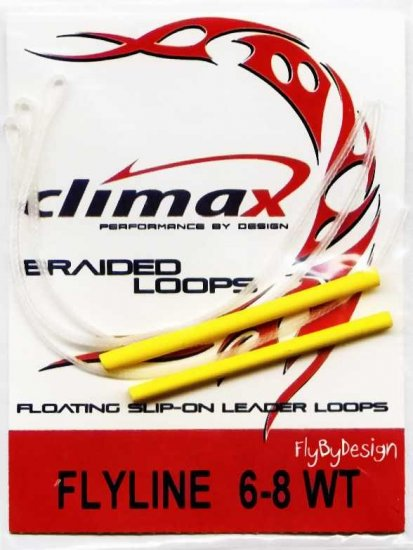 Climax Floating Leader Loops For 6-8 wt Fly Line