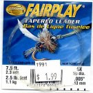 Cortland Fairplay 6x (2.5 Lb test) 7.5' Tapered Leader