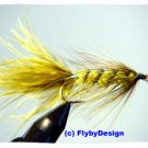 Olive Woolly Bugger Twelve Size 8 Fly Fishing Flies