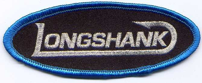 "Longshank Hook 4-1/4"" Cloth Patch"