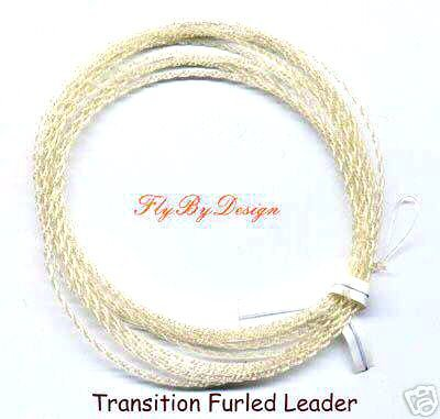 Furled 16 LB Test Gold Transition Fluorocarbon Leaders