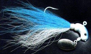 Original Deadly Blue Shad 1 ounce Hyper Striper Jig