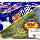 Strike King Salty Chartreuse/Blue Flake Bitsy Tube 10pk