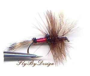 Royal Wulff Dry Fly - Twelve Size 8 Fly Fishing Flies