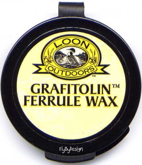 Loon Grafitolin Fishing Rod Ferrule Lubrication Wax