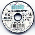 Climax TROUT 5x Monofilament FlyFishing Tippet Material