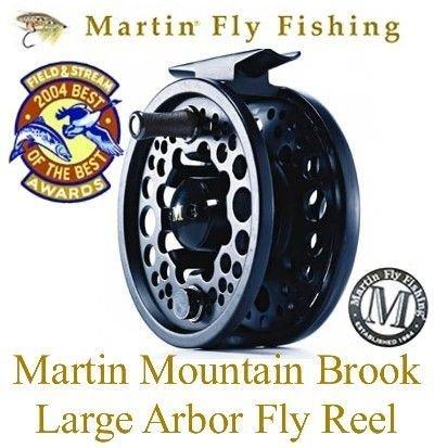 Martin Mountain Brook 7/8 Large Arbor Fly Fishing Reel