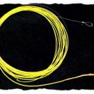 Furled 6 LB Hi-Vis Yellow Gold Leader for 4 - 6 wt Rod