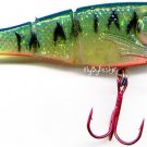Storm Fire Tiger Kickin' Minnow Soft Plastic Lure