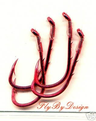 Daiichi Bleeding Fluorocarbon Size 8 Fishhooks - 1 Pack