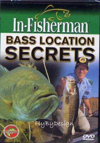 New In-Fisherman Bass Location Secrets DVD Video