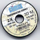 Climax TROUT 2x Monofilament FlyFishing Tippet Material